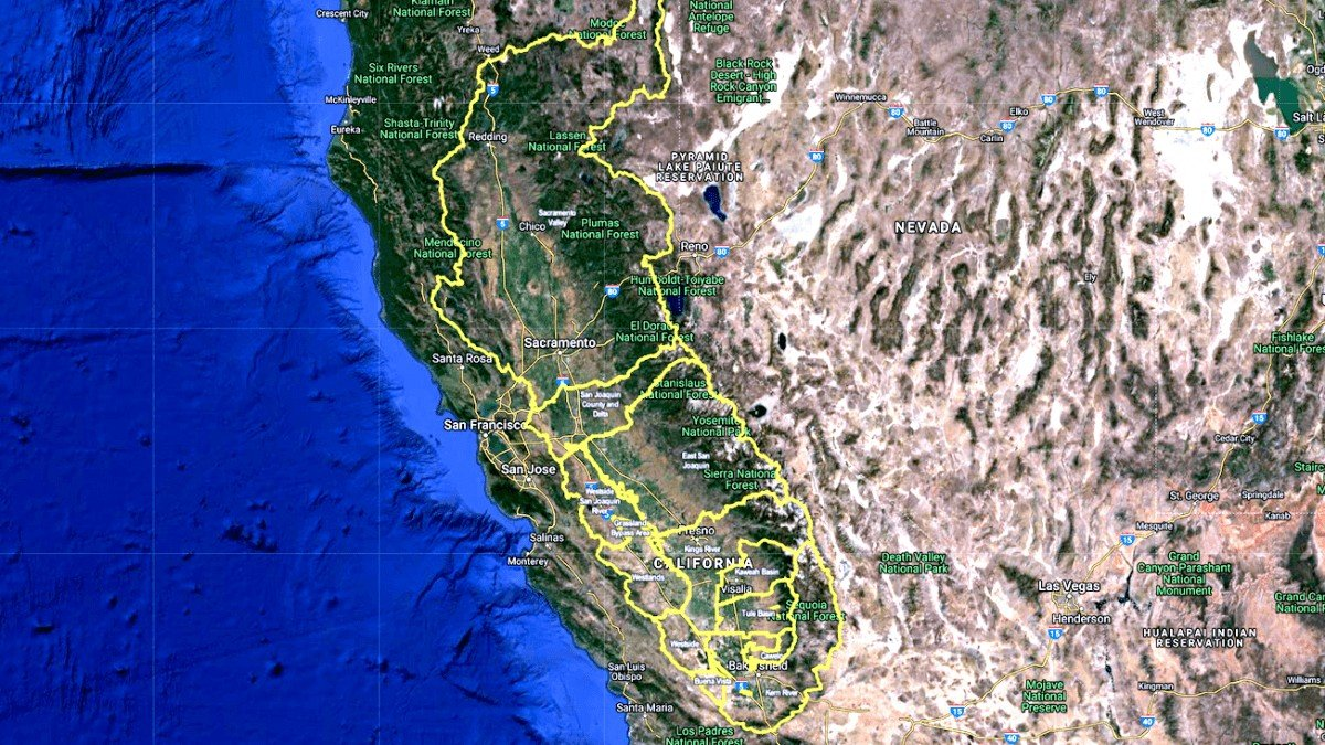 Irrigated Lands Coalition Boundary Maps