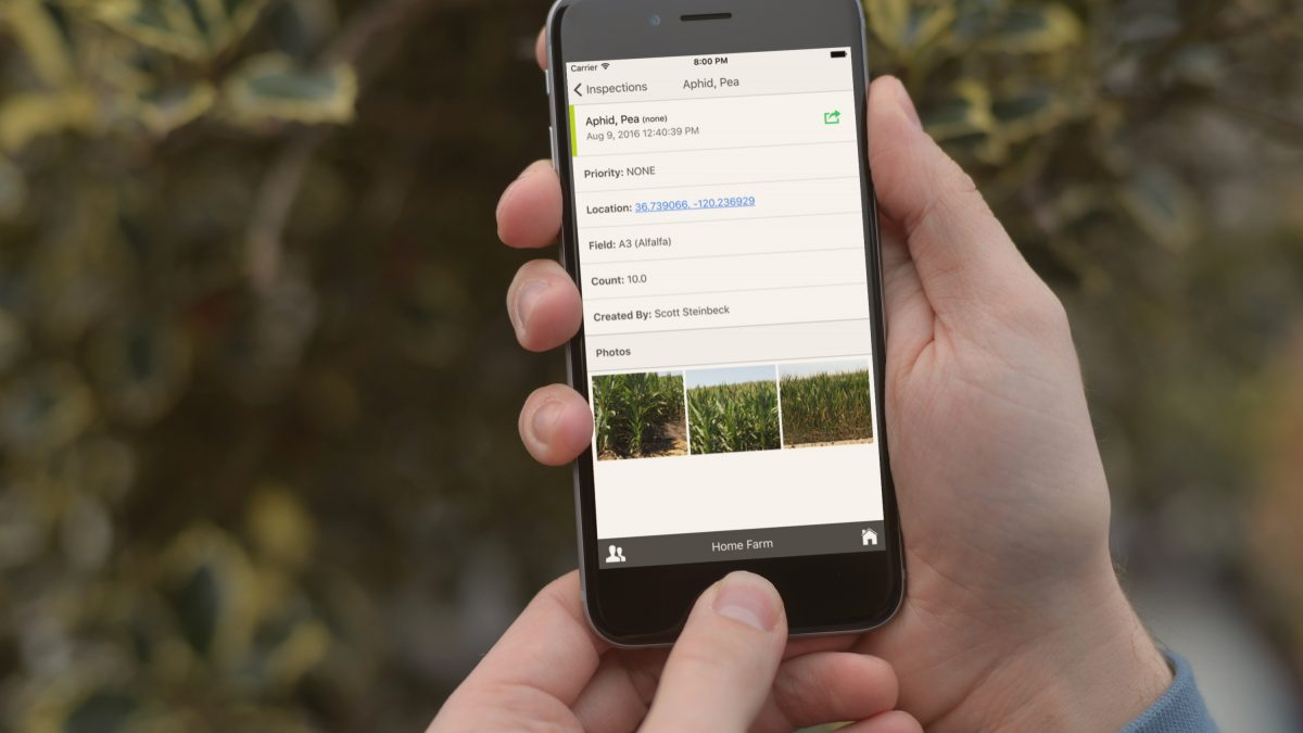 Instantly Share Field, Well, & Inspection Locations
